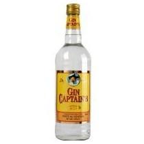 CAISSE - Gin Captain's  70 cl